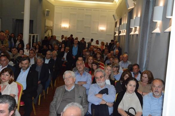 Με επιτυχία πραγματοποιήθηκε η ομιλία του Θανάση Παπαδόπουλου στην Πάτρα