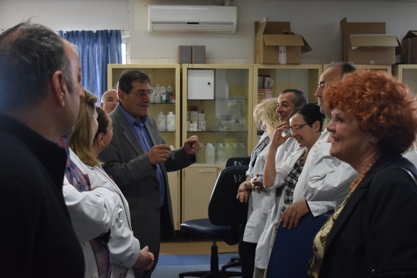 Πάτρα: O Κώστας Πελετίδης επισκέφθηκε το Π.Γ.Ν.Π (φωτο)