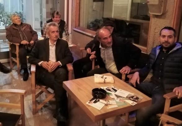 Αχαΐα: Περιοδεία Απόστολου Κατσιφάρα σε Μαζαράκι, Λουσικά και Σαγέικα