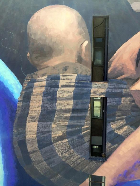 Εντυπωσιακή η τοιχογραφία του AFK στο κέντρο της Πάτρας (φωτο)
