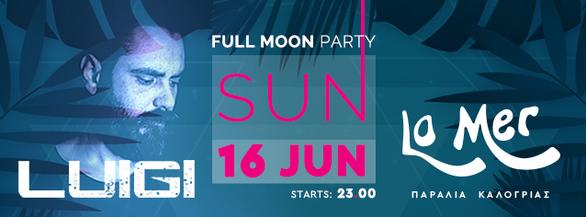 Full Moon Party at La Mer