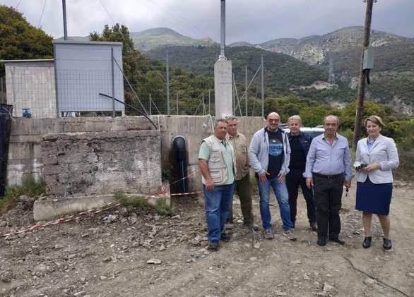 Αχαΐα: Ολοκληρώθηκε η κατασκευή δικτύου ύδρευσης για την αξιοποίηση των πηγών της Πιτίτσας