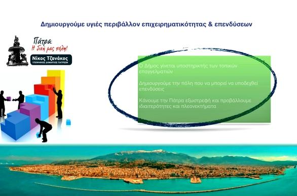 """Ν. Τζανάκος: """"Έτσι βλέπουμε εμείς την Τοπική Ανάπτυξη, την στήριξη της Επιχειρηματικότητας και Τοπικής Οικονομίας"""""""