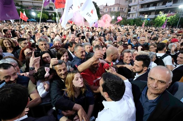 """Τσίπρας από Αγρίνιο: """"Η Ελλάδα δεν θα γυρίσει πίσω, στα σκληρά χρόνια του ΔΝΤ"""" (φωτο)"""