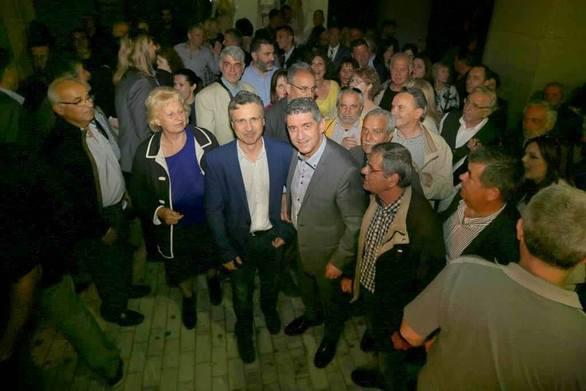 "Mεγάλη συγκέντρωση Αλεξόπουλου: ""Οι Πατρινοί έδωσαν εισιτήριο για το β΄γύρο"" (φωτο+video)"