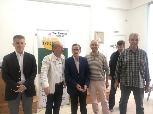 Πάτρα - Ο Νίκος Νικολόπουλος σε Λαχαναγορά και Ιχθυόσκαλα! (φωτο)