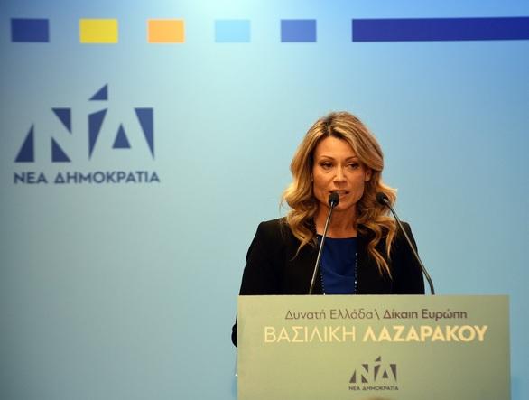 """Βασιλική Λαζαράκου: """"Η Ευρώπη είναι το σπίτι μας, οι ευκαιρίες μας, το ίδιο μας το μέλλον"""""""