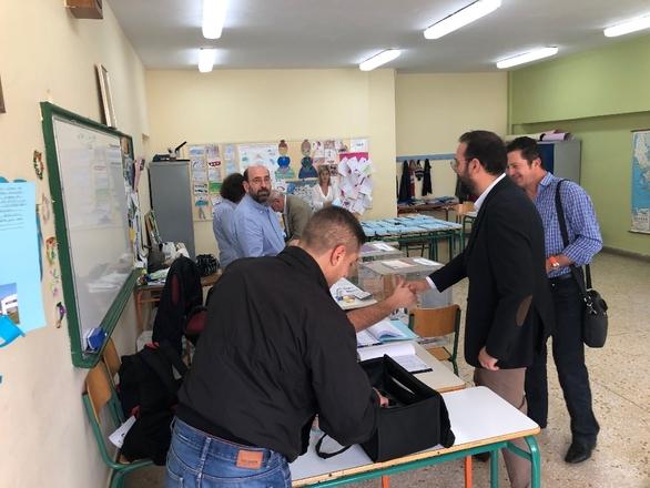 Επισκέψεις Ν. Φαρμάκη σε εκλογικά τμήματα της Δυτικής Ελλάδας