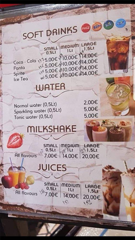 Τι απαντά το εστιατόριο στη Ρόδο για το λογαριασμό των 82 ευρώ για 8 αναψυκτικά (φωτο)