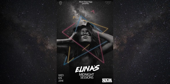 Elina's Midnight Sessions at More steps Naja