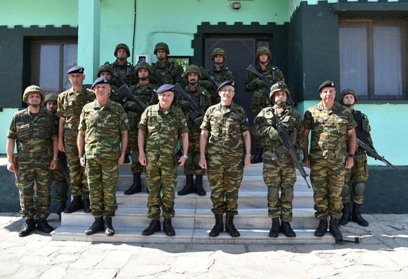 Επίσκεψη Αρχηγού ΓΕΣ στο Δ΄ Σώμα Στρατού (φωτο)
