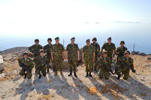 Επίσκεψη Αρχηγού ΓΕΣ σε Κάλυμνο, Πάτμο, Λέρο, Καλόλιμνο και Φαρμακονήσι (φωτο)