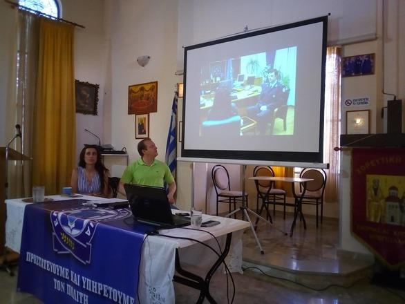 Πάτρα: Eνημέρωση πολιτών από την ΕΛ.ΑΣ. για τις απάτες (φωτο)