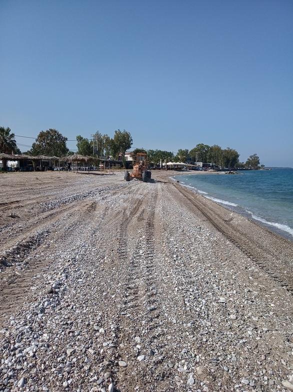 Πάτρα: Ξεκίνησαν οι εργασίες καθαρισμού στην παραλιακή ζώνη (φωτο)