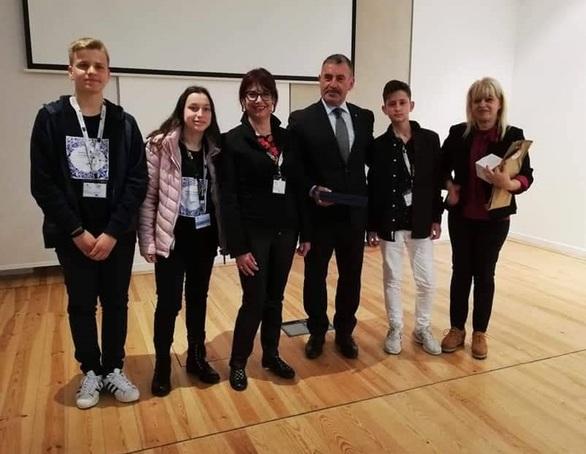Εκπαιδευτικοί και μαθητές του 13ου Γυμνασίου Πάτρας βρέθηκαν στην Πορτογαλία (φωτο)