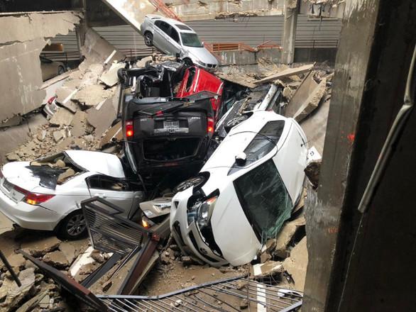ΗΠΑ: Γερανός έπεσε σε πολυκατοικία - Ένας νεκρός (φωτο)