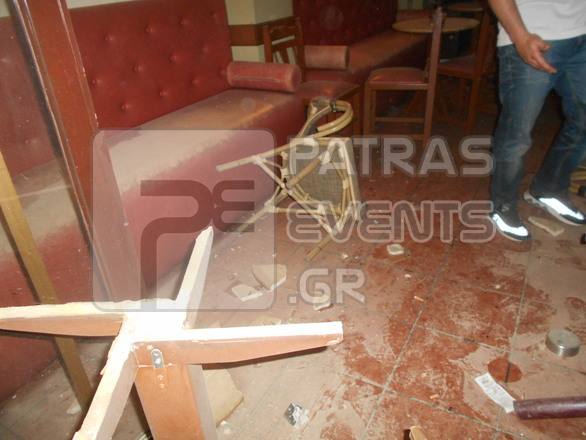 Πάτρα: Χούλιγκανς επιτέθηκαν σε καφενείο, επειδή είδαν κάποιους να... πίνουν μπύρα! (φωτο)