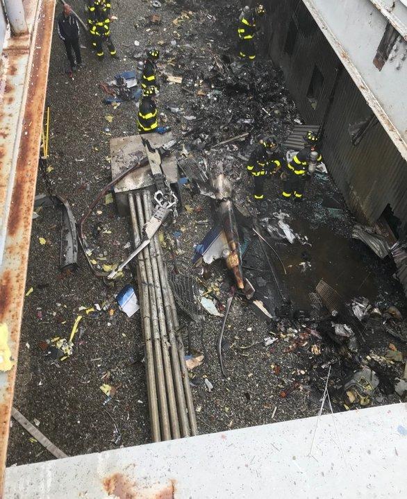Στοιχεία για το πώς συνέβη η συντριβή ελικοπτέρου στο Μανχάταν