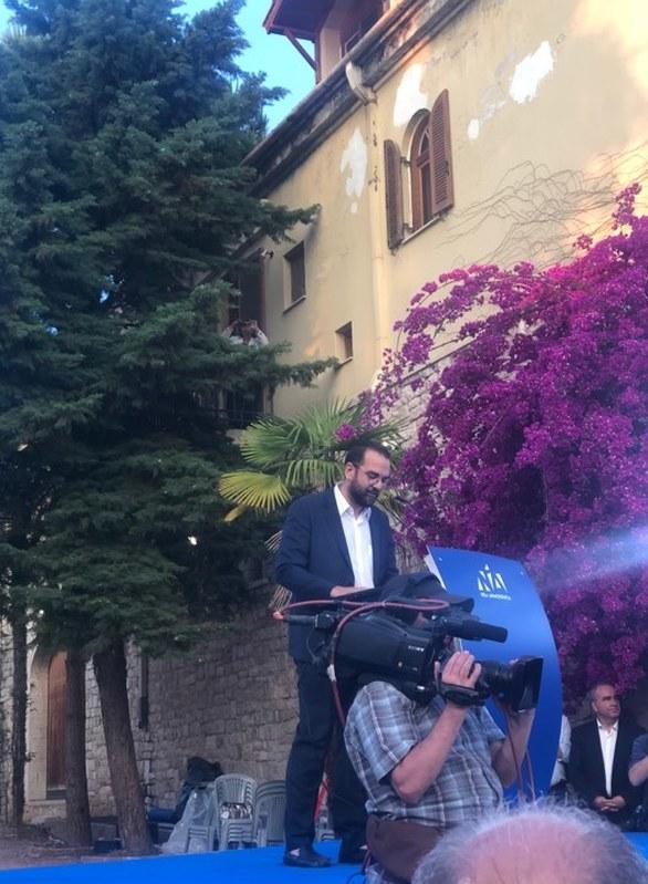 Ο Κυριάκος Μητσοτάκης επικεφαλής του ψηφοδελτίου της Νέας Δημοκρατίας στην Αχαΐα