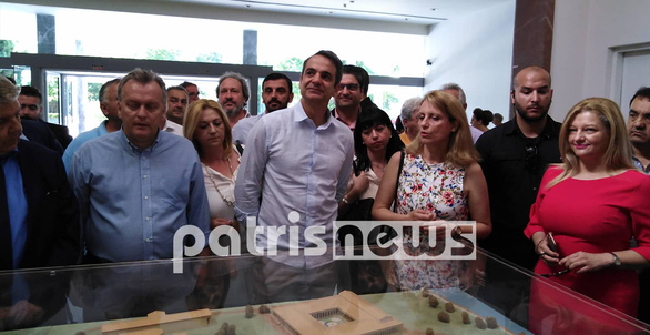 Περιοδεία στην Ηλεία πραγματοποιεί ο Κυριάκος Μητσοτάκης (φωτο)