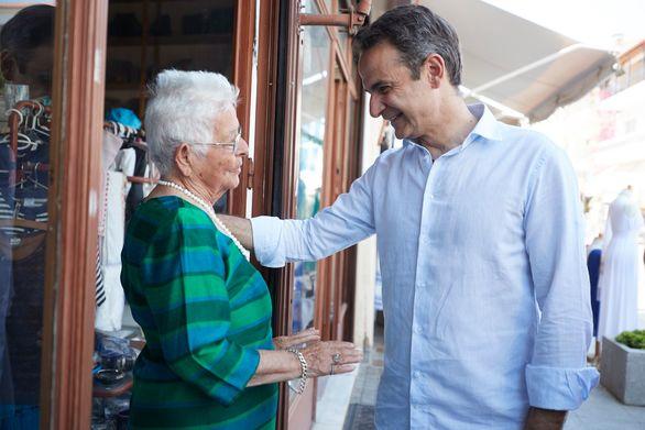 """Κυριάκος Μητσοτάκης από την Ηλεία: """"Iσχυρή ανάπτυξη - αυτοδύναμη Ελλάδα, είναι το σύνθημά μας"""" (φωτο)"""