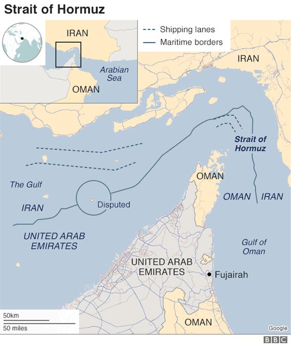 Επίθεση σε δυο τάνκερ στον Κόλπο του Ομάν!