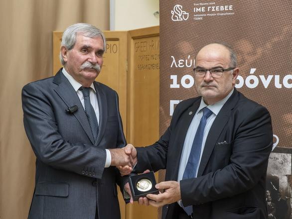Πάτρα: Mε επιτυχία διεξήχθη η εκδήλωση «100 Χρόνια ΓΣΕΒΕΕ & μικρές επιχειρήσεις στην Ελλάδα»