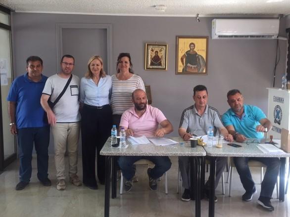 Πάτρα: H Ευσταθία Γιαννιά ψήφισε στιςαρχαιρεσίες της Διεθνούς Ένωσης Αστυνομίας (φωτο)
