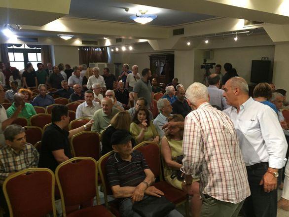 Πάτρα: Ο Γιώργος Παπανδρέου συμμετείχε στη συνεδρίαση της Νομαρχιακής Επιτροπής του ΚΙΝΑΛ (pics)