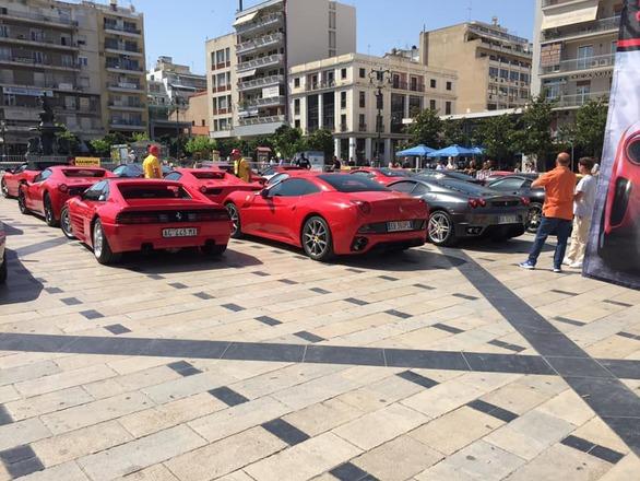 Η Πάτρα γέμισε με Ferrari! (pics+video)