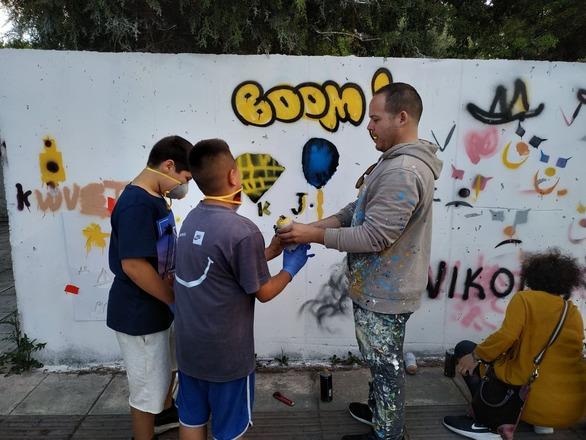 Αντίστροφη μέτρηση για το 3ο εκπαιδευτικό πρόγραμμα του 4ου Διεθνούς Street Art Festival