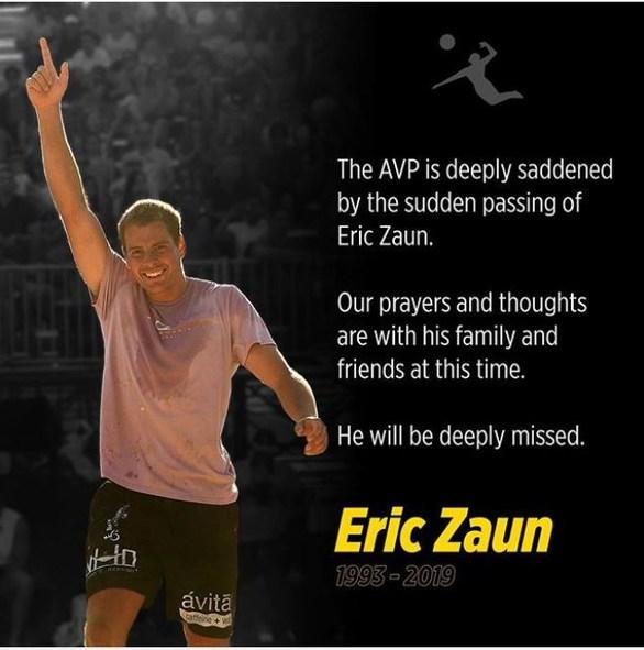 Αυτοκτόνησε ο βολεϊμπολίστας Έρικ Ζάουν - Πήδηξε από τον 29ο όροφο ξενοδοχείου