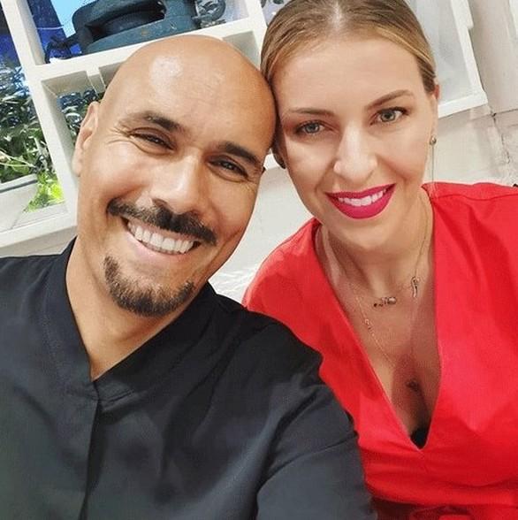Δημήτρης Σκουλός - Η φωτογραφία με τη σύζυγό του στο Instagram!