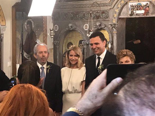 Παντρεύτηκαν Μπαλατσινού - Κικίλιας