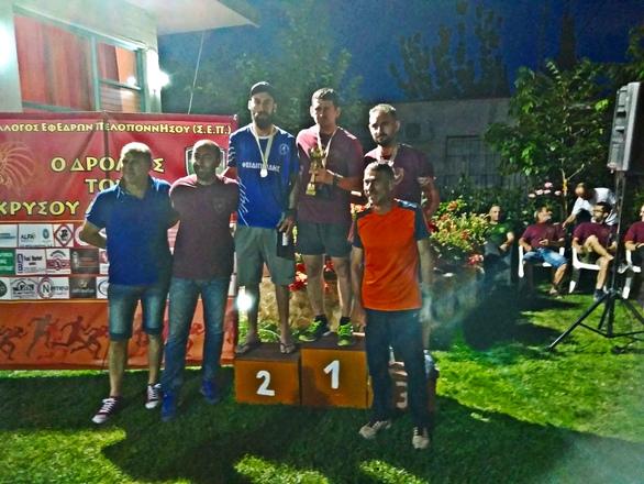 2ος στην κατηγορία του ο Σταύρος Γιαννακόπουλος του Φειδιππίδη στο δρόμο του Χρυσού Λιονταριού!