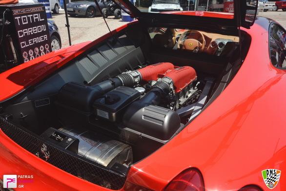 Ολοκληρώθηκε η επέλαση των Ferrari στην Πάτρα! (φωτο)