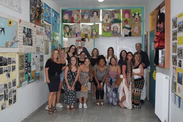 Φιλοξενία καθηγητών του Πανεπιστημίου Ιλινόις στο ΣΔΕ Πάτρας (φωτο)
