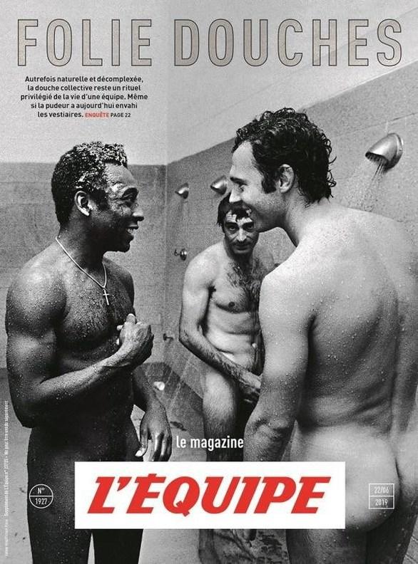 Πελέ & Μπεκενμπάουερ... γυμνοί στο ντους (φωτο)