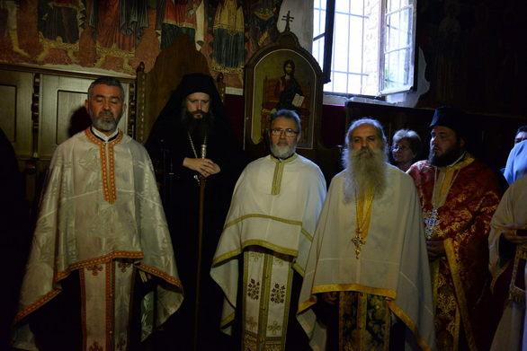 Πανηγύρισε η Ιερά Μονή Αγίων Πάντων στο Βελημάχι της Τριταίας (pics)