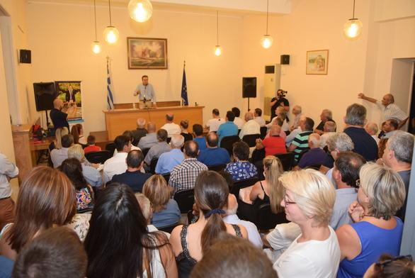 Μήνυμα νίκης του Γιώργου Κουτρουμάνη σε μεγαλειώδη συγκέντρωση στην Κάτω Αχαΐα