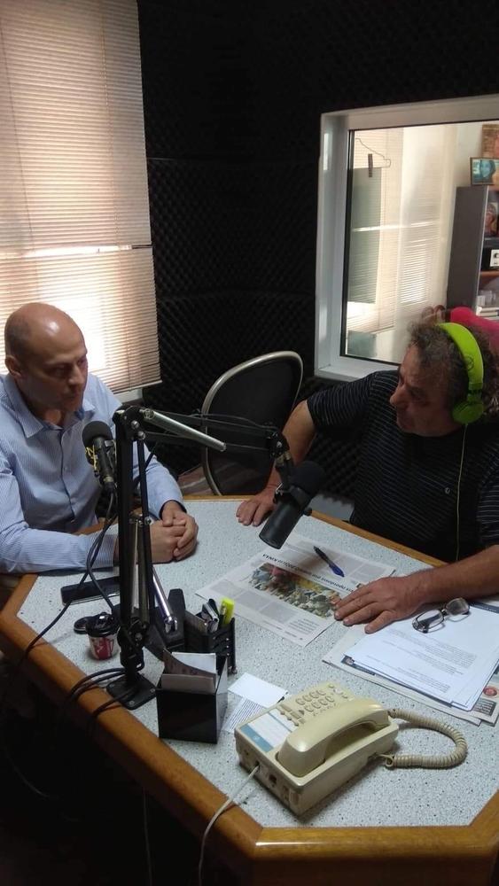 Αχαΐα: O Ανδρέας Τζουραμάνης επισκέφθηκε την Παναιγιάλεια Ένωση, τα στούντιο της ΕΡΤ και το Ράδιο Αίγιο