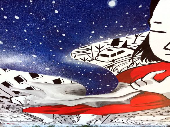 Το έργο του Millo που μας ταξιδεύει από τα κύματα στα άστρα - Στην Αγυιά της Πάτρας