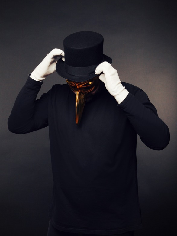 Claptone at Bolivar Beach Bar