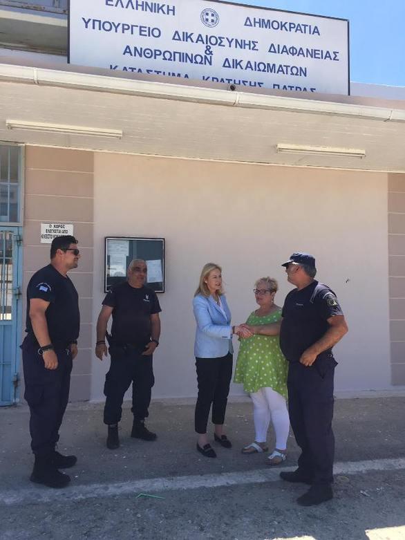"""Ευσταθία Γιαννιά: """"Αναγκαίες και επιβεβλημένες οι προσλήψεις προσωπικού και αποσυμφόρησης των φυλακών Αγίου Στεφάνου"""""""