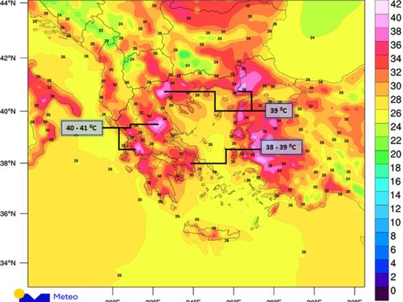 Κύμα καύσωνα στην Πάτρα - Μέχρι που θα φτάσει ο υδράργυρος