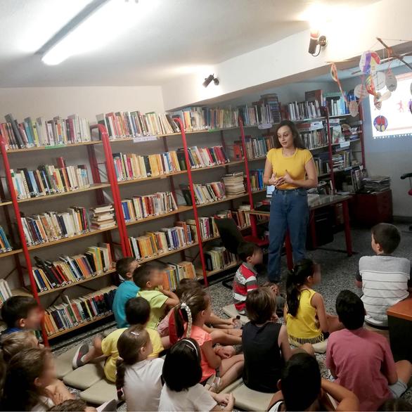 «Πάμε Μεσογειακούς Παράκτιους Αγώνες;» - Μια ξεχωριστή δράση διεξήχθη στη Δημοτική Βιβλιοθήκη Πατρών