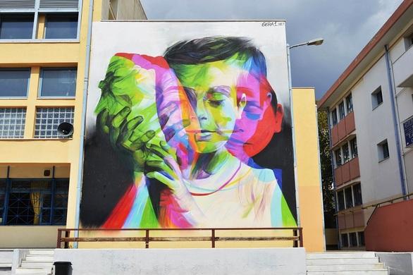 Ο «Gera 1» δημιουργεί την 10η τοιχογραφία του φετινού Street Art Festival Patras!