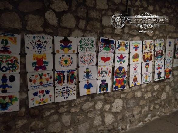 Με τις καλύτερες εντυπώσεις έκλεισε τη φετινή χρονιά το Τμήμα Εικαστικών Τεχνών του Λυκείου των Ελληνίδων Πατρών