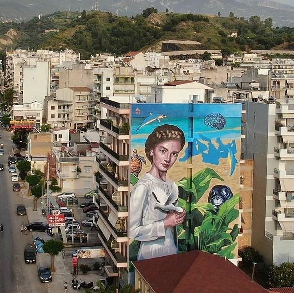 Το 4ο Διεθνές Street Art Festival Πάτρας ολοκληρώθηκε - Ετοιμαστείτε για ένα μεγάλο περίπατο (pics)