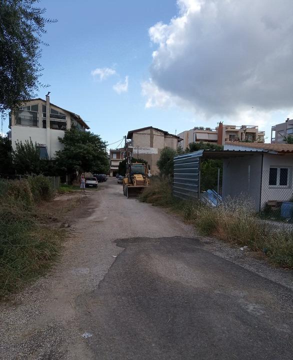 Αχαΐα - Εργασίες καθαρισμού στο δασικό δρόμο, στη θέση Βόλα! (φωτο)